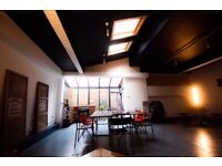Large Live/ Work Spaces..All bills inc....Huge Work areas, High Ceilings.Cool Interiors..