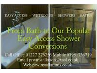 Specialists in Bathroom Wetroom Disabled Adaptions