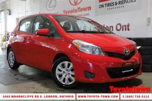 2014 Toyota Yaris SINGLE OWNER LOW MILEAGE LE