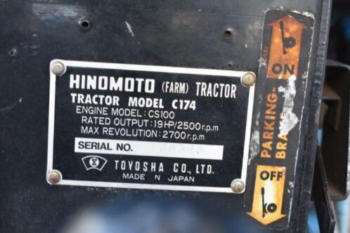 ≥ Veiling: Mini Tractor Hinomoto C174 Diesel - Agrarisch