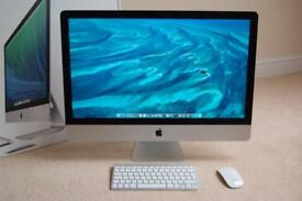 27inch Apple iMac Late 2013, i5 3.2 GHz, 1TB HDD, 8GB RAM, Nvidia GT 755M as new and hardly used