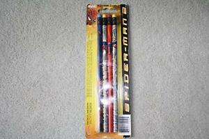 BRAND NEW - SPIDERMAN PENCILS - 4 PACK