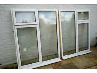 White Aluminium Window (two)