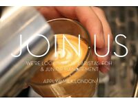 BE OUR FRIENDS! Award Winning Aussie Cafe/restaurant seeks FOH peeps