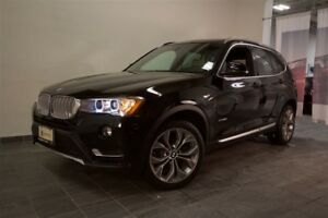 2017 BMW X3 Xdrive | Nav | Pano Sunroof | Wrrty |