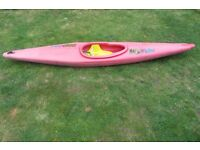 RED KAYAK -380 DISCOVERY-- GREAT WATERSPORTS FOR SUMMER FUN
