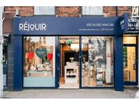 Part-Time Beauty Therapist or Skin Therapist for Rejouir Skin Clinic on the Lisburn Road Belfast.