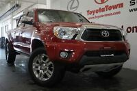 2013 Toyota Tacoma 4X4 V6 DOUBLE CAB LIMITED WITH LEATHER & NAV