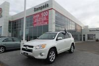 2010 Toyota RAV4 Limited V6 w/Leather, sunroof and bluetooth!!!