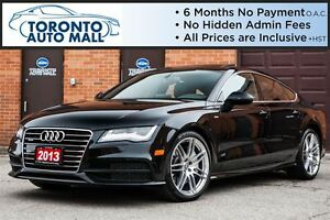2013 Audi A7 No accident+S line+Navigation+360 camera