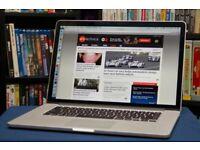 Macbook Pro Retina 2014 15 inch , i7 - 16GB - 512 GB . Final cut , Logic Pro