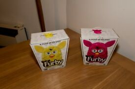 Two furby's