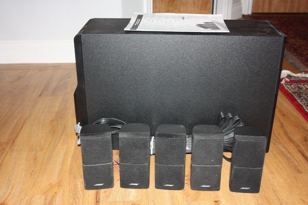 bose acoustimass 10 series 2 speaker system in leith. Black Bedroom Furniture Sets. Home Design Ideas