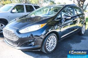 2014 Ford Fiesta Titanium  SEULEMENT 34042KM  NAVIGATION MAGS 16