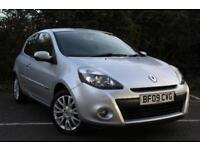 Renault Clio Tomtom Edition 3dr **FULL SERVICE HISTORY** (silver) 2009