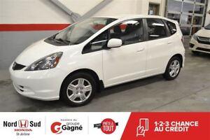2013 Honda Fit LX*50$/SEM.*EXTRA PROPRE**CERTIFIÉ**