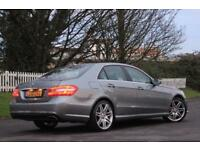 MERCEDES-BENZ E CLASS 3.0 E350 CDI BLUEEFFICIENCY SPORT 4d AUTO 265 BHP (silver) 2012
