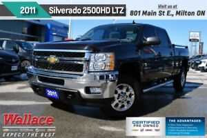 2011 Chevrolet SILVERADO 2500HD LTZ/6.0L V8/REAR DVD/HD TRLR PKG