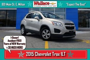 2015 Chevrolet Trax 1LT/ACCIDENT-FREE/1-OWNER//6-SPKR AUDIO/AC