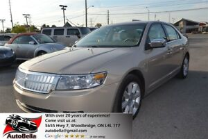 2008 Lincoln MKZ leather cooled and heated seats