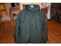 Small/Medium Craghoppers Goretex Dark Green 3-in-1 Kiwi Coat Jacket with fleece inner. Sells at £99+