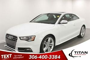 2013 Audi S5 Premium Plus|Quattro|Supercharged|Manual| Leather|