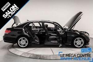 2014 Mercedes-Benz E-Class E350 4MATIC, AWD, NAV, CUIR, TOIT
