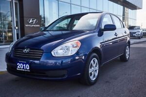 2010 Hyundai Accent RELIABLE / LOW KMS / ACCIDENT FREE!!