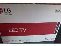 "LG 32""TV BRAND NEW SEALED BOX"