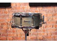 Dunnett Patterned Snare Drum - Bronze
