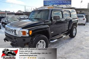 2006 Hummer H3 4X4 LEATHER SUNROOF DVD ALLOYS
