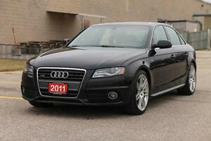 2011 Audi A4 2.0T Premium | AWD | S-Line | CERTIFIED + E-Tested