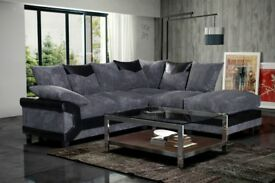 = SPECIAL SALE= BRAND NEW LARGE DINO 3+2 OR CORNER SOFA SET + SAME DAY DROP
