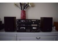 VINTAGE TECHNICS STEREO STACK HI-FI SYSTEM SEPARATES SU-Z55 + ST-Z55 + RS-M233X