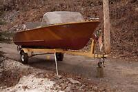 1962 Credit River Boat Antique New Price