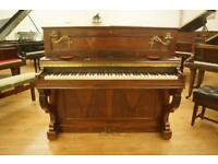 Antique French decorative upright piano. Can deliver uk wide