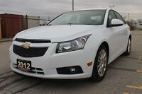 2012 Chevrolet Cruze ECO | ONLY 47K | Accident-FREE | CERTIFIED