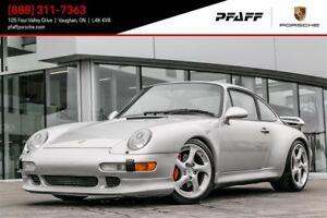 1997 Porsche 911 Carrera 4 Coupe S