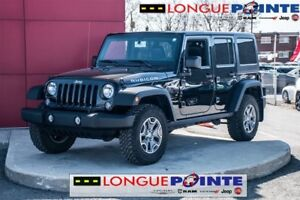 2016 Jeep WRANGLER UNLIMITED Rubicon - CUIR - GPS