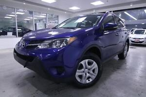 2014 Toyota RAV4 LE, AWD, CRUISE, PWR GROUP, ONE OWNER......