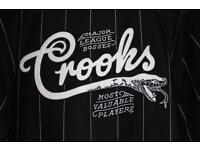 Crooks & Castles NCL Pin Stripe Jacket Black L