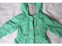 Next Baby Girl Jacket, size 3-6 months