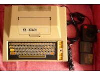 Atari 400 / recorder / joystick/ baisc & space invaders