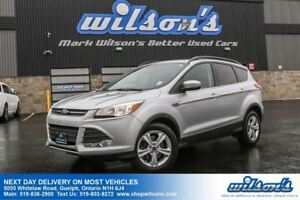 2015 Ford Escape SE 4X4 SUV! LEATHER! PANORAMIC SUNROOF! REAR CA