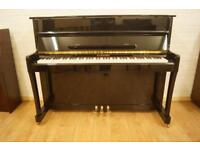 H. G. Schubert Upright Piano. Brand new. Tuned. Free delivery and stool