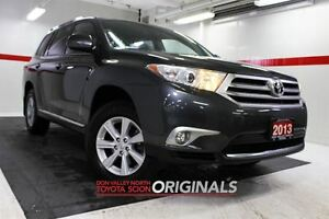 2013 Toyota Highlander AWD Lthr Btooth BU Camera Cruise Pwr Seat