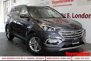 2017 Hyundai Santa Fe Sport 2.4 AWD SE LEATHER PANO ROOF BLIND S