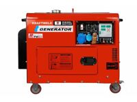 Generator KRAFTWELE SDG 9800 Silent ATS 1 Phase 9,8 KW Diesel
