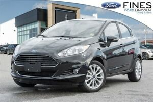 2017 Ford Fiesta Titanium - FORD CERTIFIED RATES FROM 1.9% APR