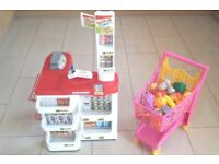 Role Play - Shop & Trolley (with food accessories)